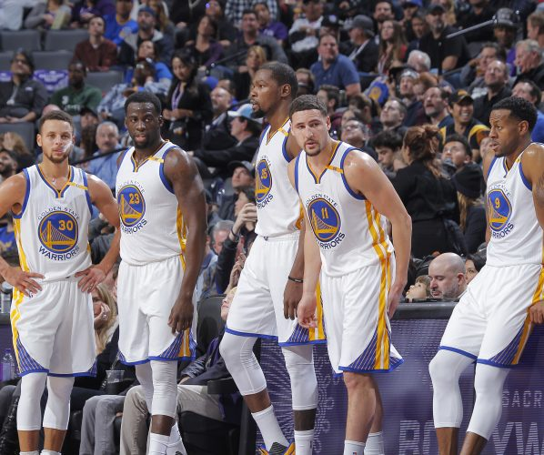 Golden State Warriors Klay Thompson Kevin Durant