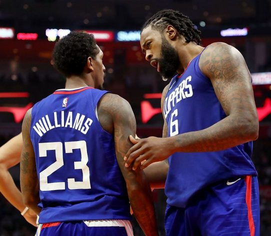Lou Williams DeAndre Jordan Clippers