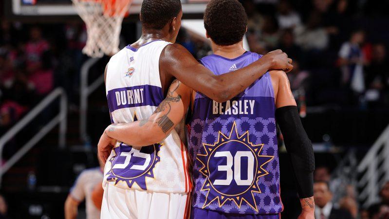 Kevin Durant Michael Beasley Rookie Sophomore