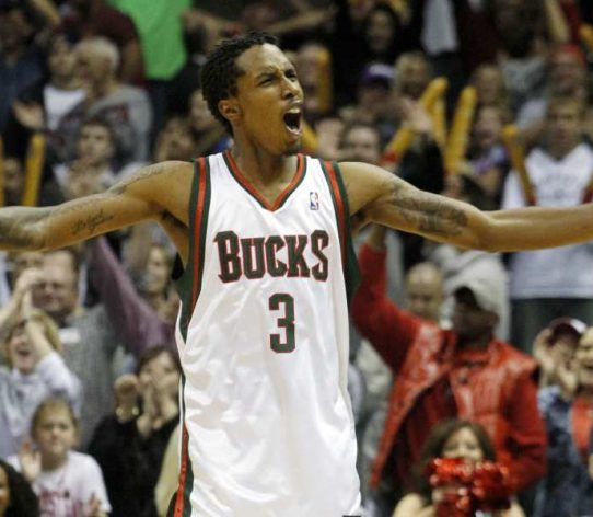 Brandon Jennings Milwaukee Bucks