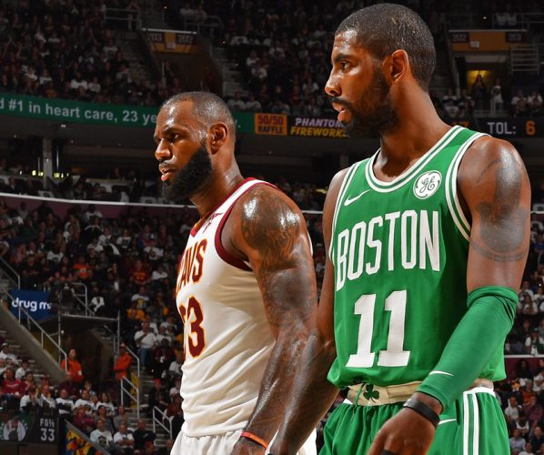 Cavaliers Cavs Boston Celtics Kyrie Irving LeBron James