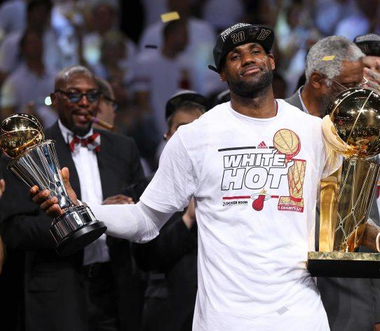 LeBron James MVP Finals