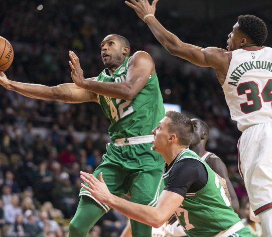 Giannis Horford Bucks Celtics