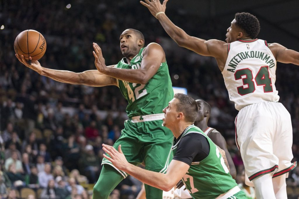 Giannis Horford Bucks Celtics