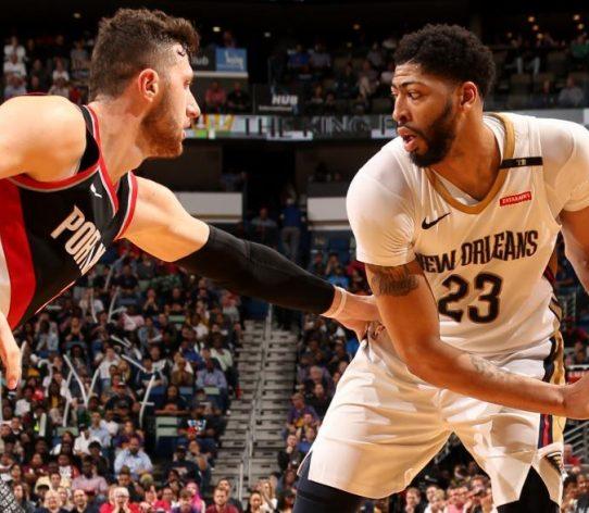 Davis Pelicans Nurkic Blazers