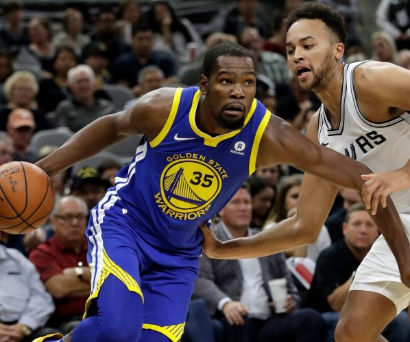 Durant Anderson Spurs Warriors