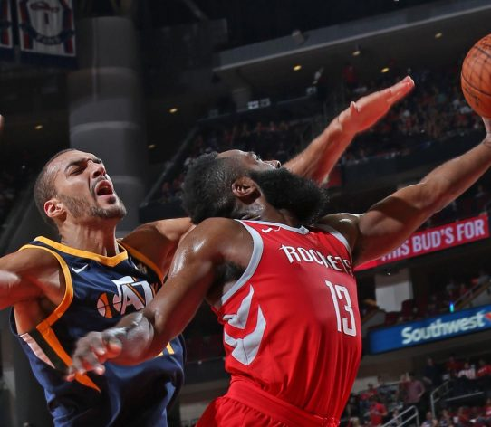 Gobert Harden Jazz Rockets