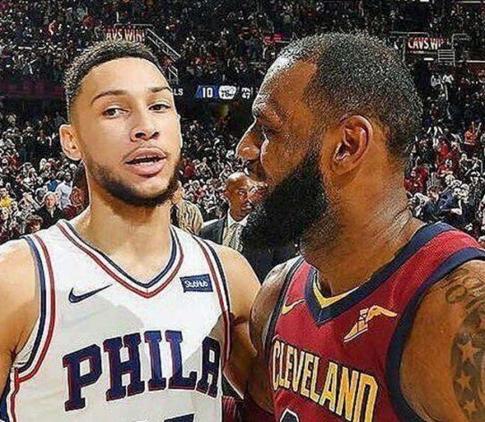 LeBron Simmons Podcast NBA