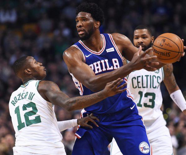 Embiid Rozier Boston Celtics Sixers