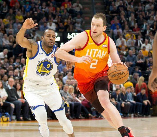 Joe Ingels Utah Jazz