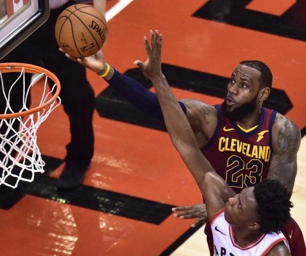 LeBron DeRozan NBA