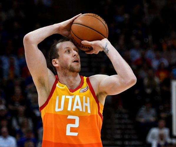 Joe Ingles Jazz Rockets