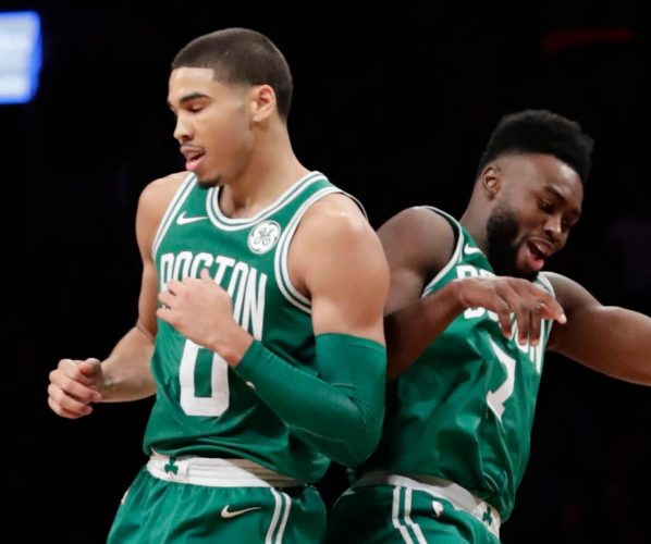 Jaylen Brown Jayson Tatum Boston Celtics