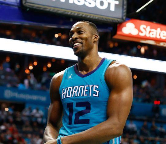 Dwight Howard Charlotte Hornets