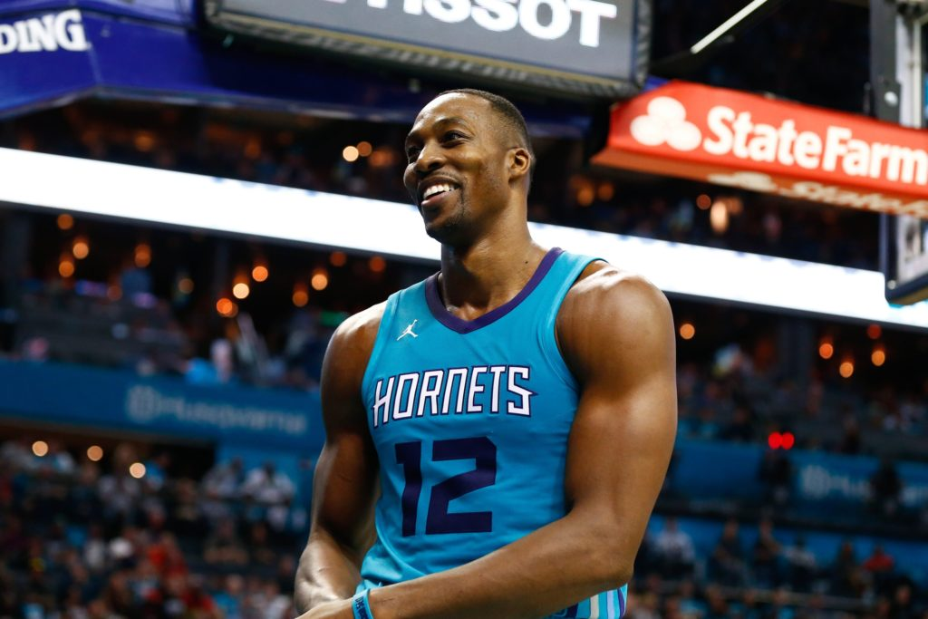 Dwight Howard Charlotte Hornets