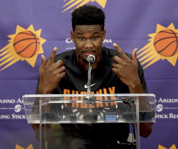 Deandre Ayton Phoenix Suns