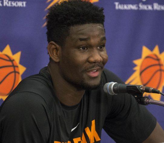 Deandre Ayton draft Suns
