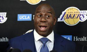Magic Johnson przekona Kawhi do Lakers?