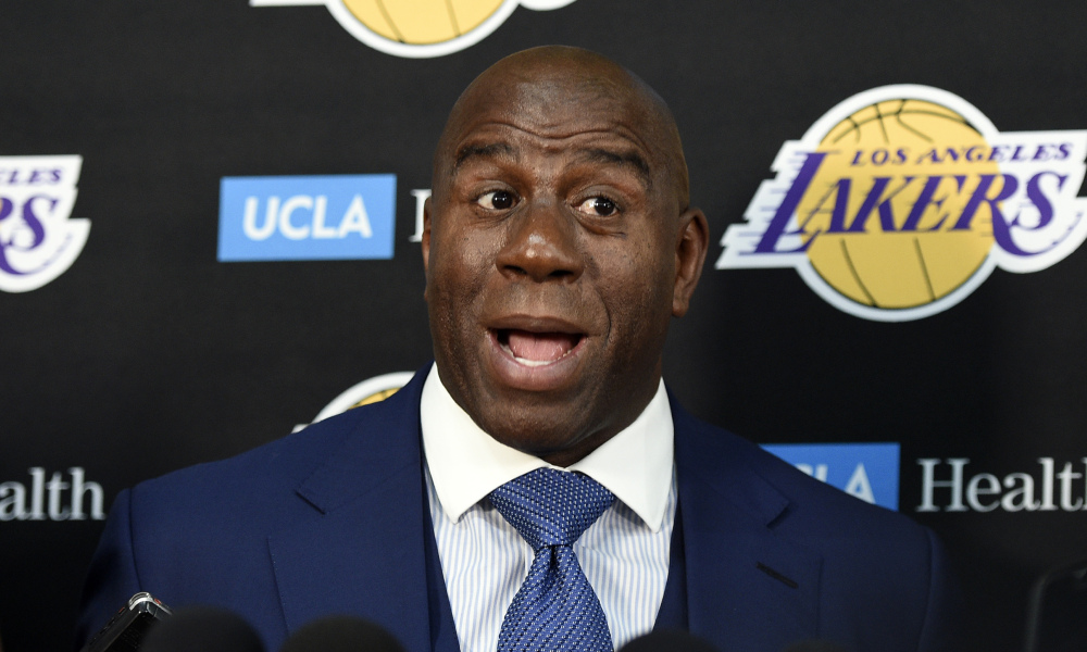 Magic Johnson przekona Kawhi do Lakers?