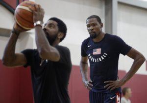 Portis: Wszyscy w lidze wiedzieli, gdzie zagrają Durant i Irving