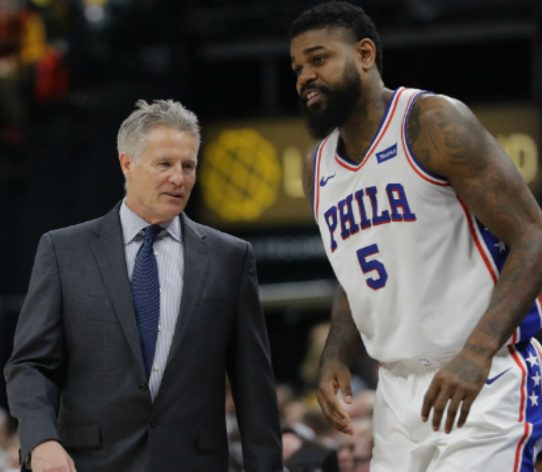 Amir Johnson Brett Brown