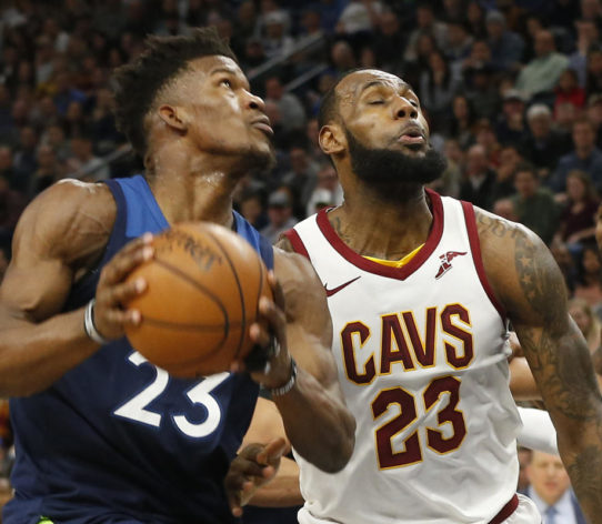 Jimmy Butler LeBron James