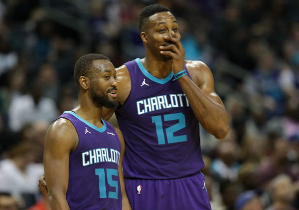 Kemba Walker Dwight Howard Hornets