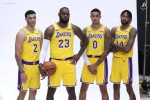 LeBron: Za dużo oczekujemy od młodzieży Lakers