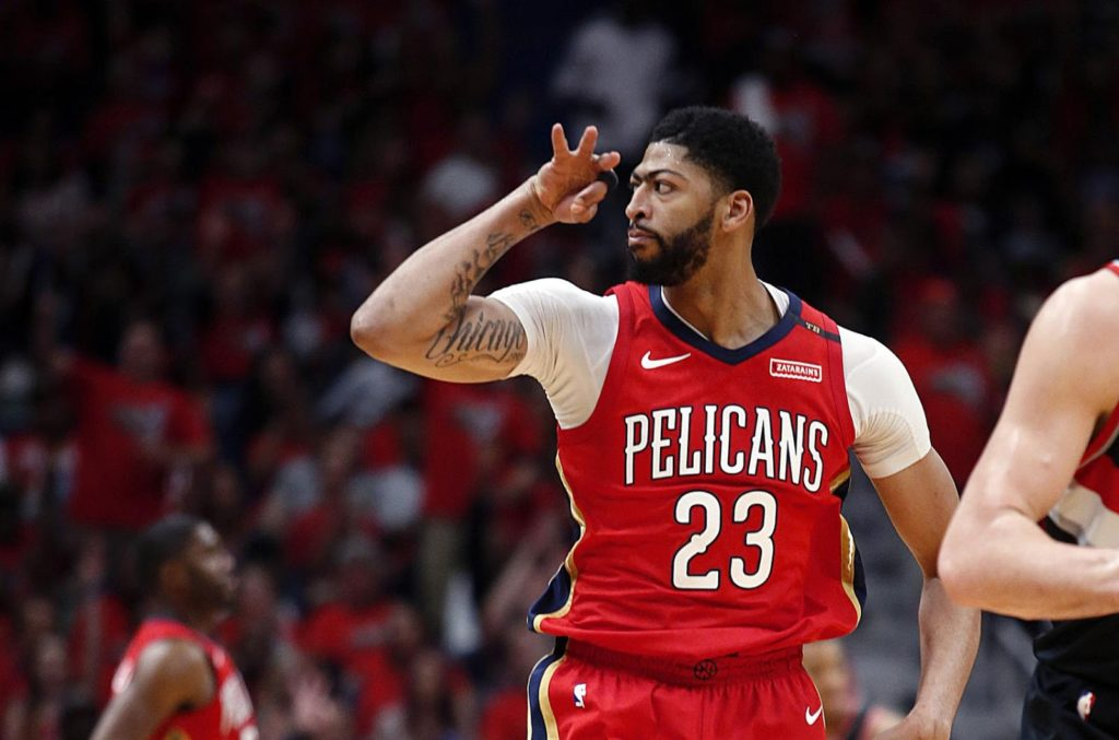 Anthony Davis Pelicans