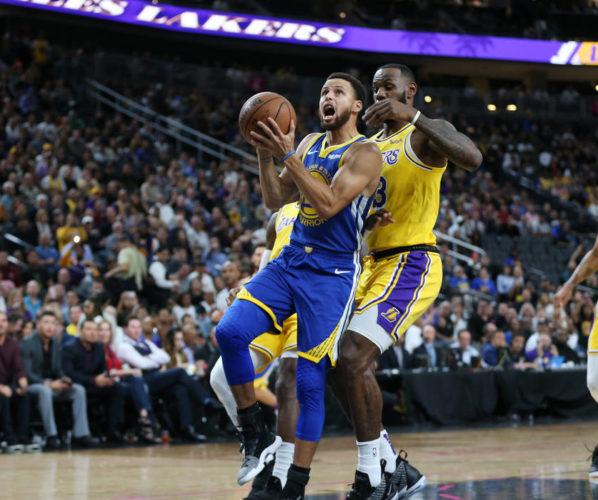 Steph Curry LeBron James NBA