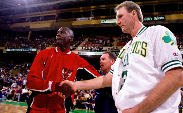 Michael Jordan, Larry Bird NBA