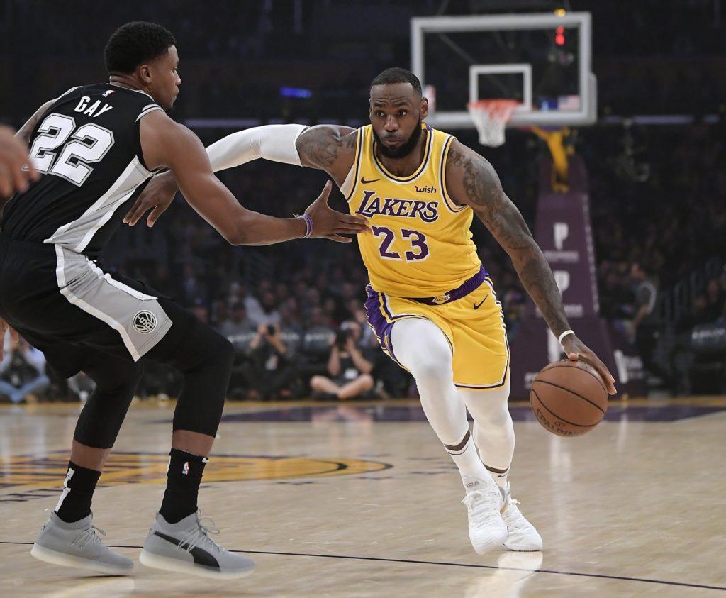 LeBron James nowym rozgrywającym LA Lakers
