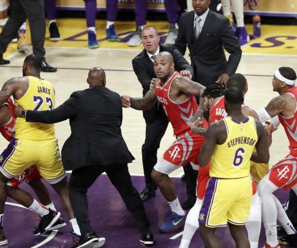 Los Angeles Lakers bójka