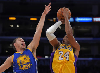 Klay Thompson, Kobe Bryant