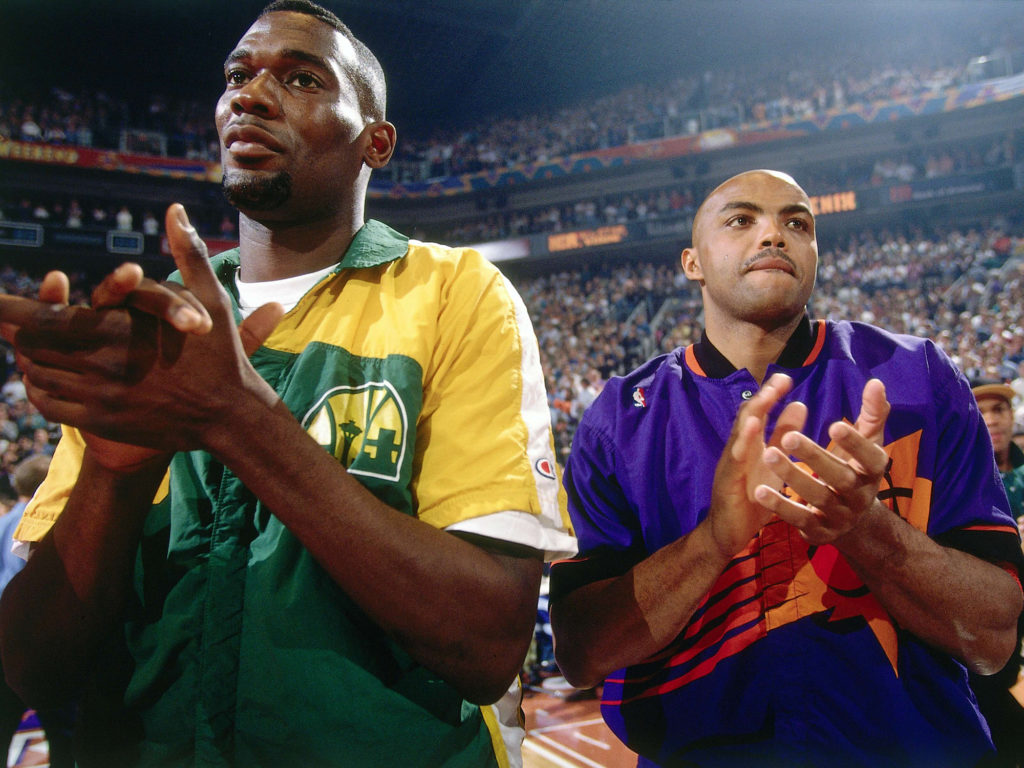 Charles Barkley, Shawn Kemp