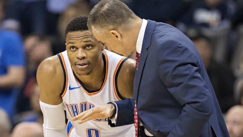 Russell Westbrook Billy Donovan