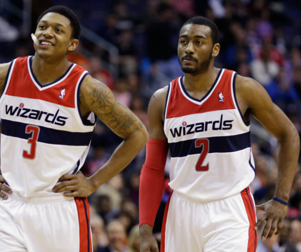 John Wall Bradley beal Wizards
