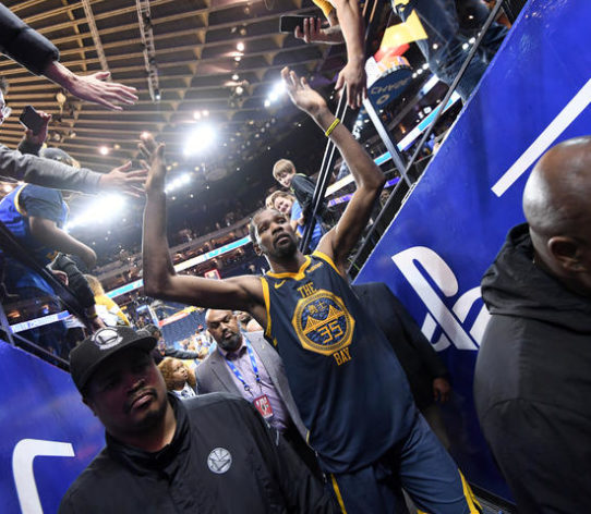 Durant Warriors Kings