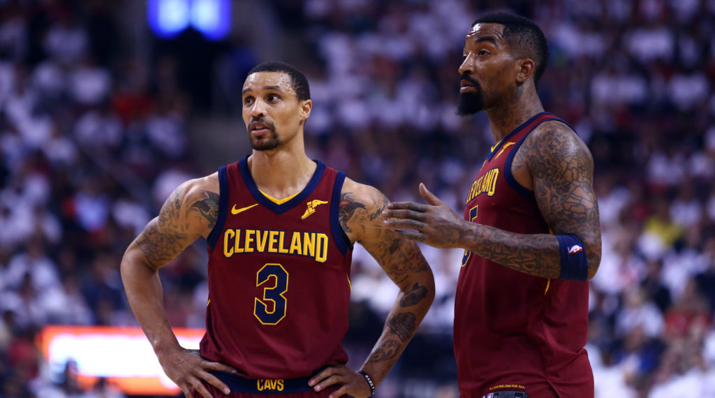 George Hill JR SMith Cavs