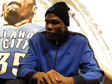 Kontuzjowany Durant wypada z gry