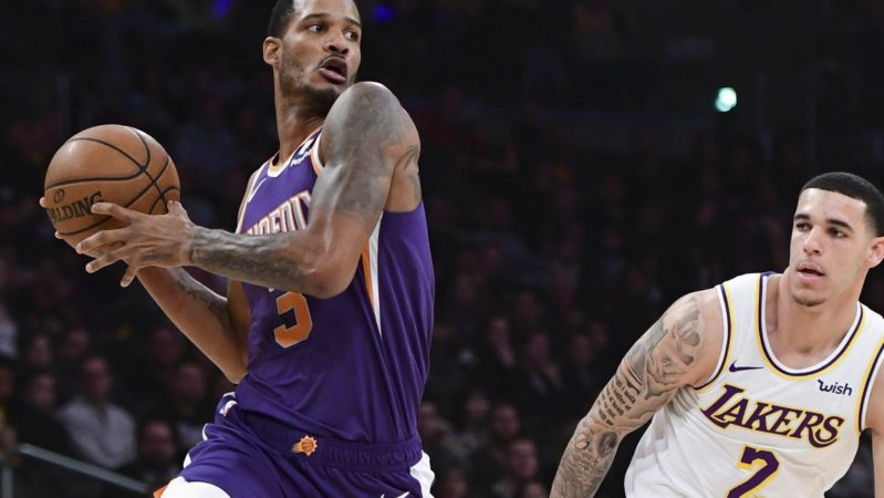 Trevor Ariza Lonzo Ball Suns Lakers