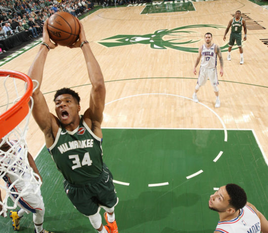 Giannis Bucks SIxers