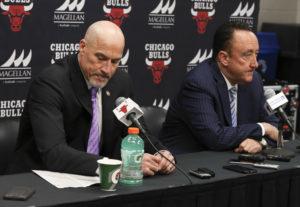 Chicago Bulls zadowoleni z pracy duetu Paxson/Forman