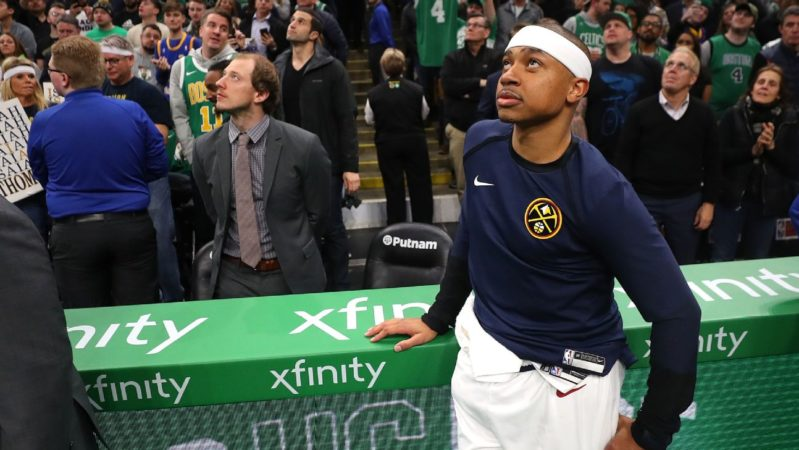 Isaiah Thomas Nuggets Celtics IT
