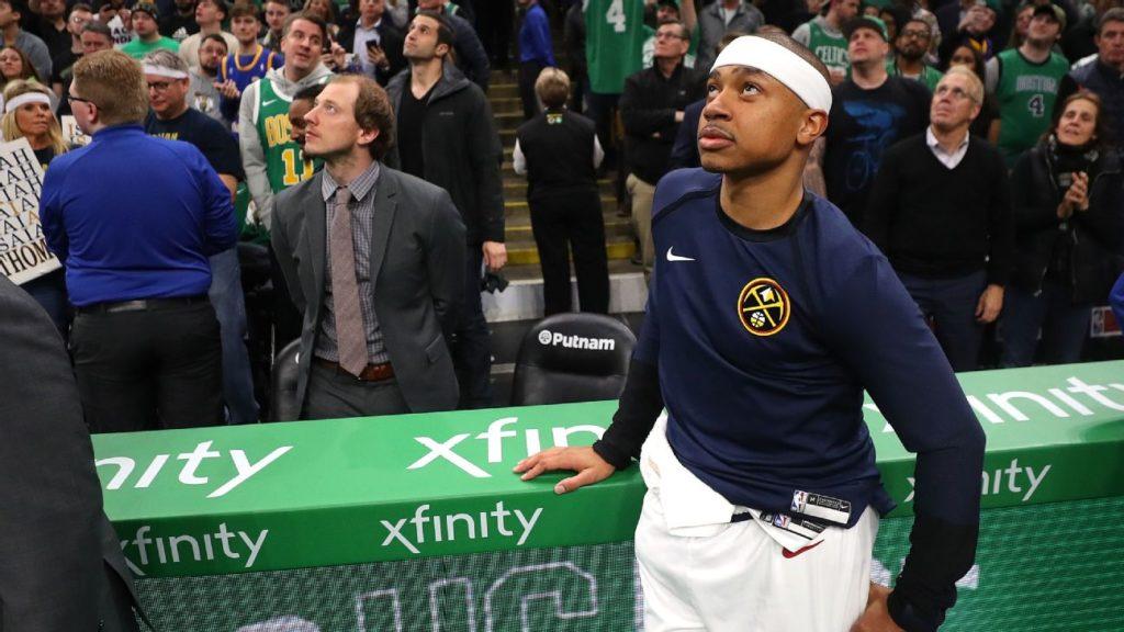 Isaiah Thomas Nuggets Celtics IT