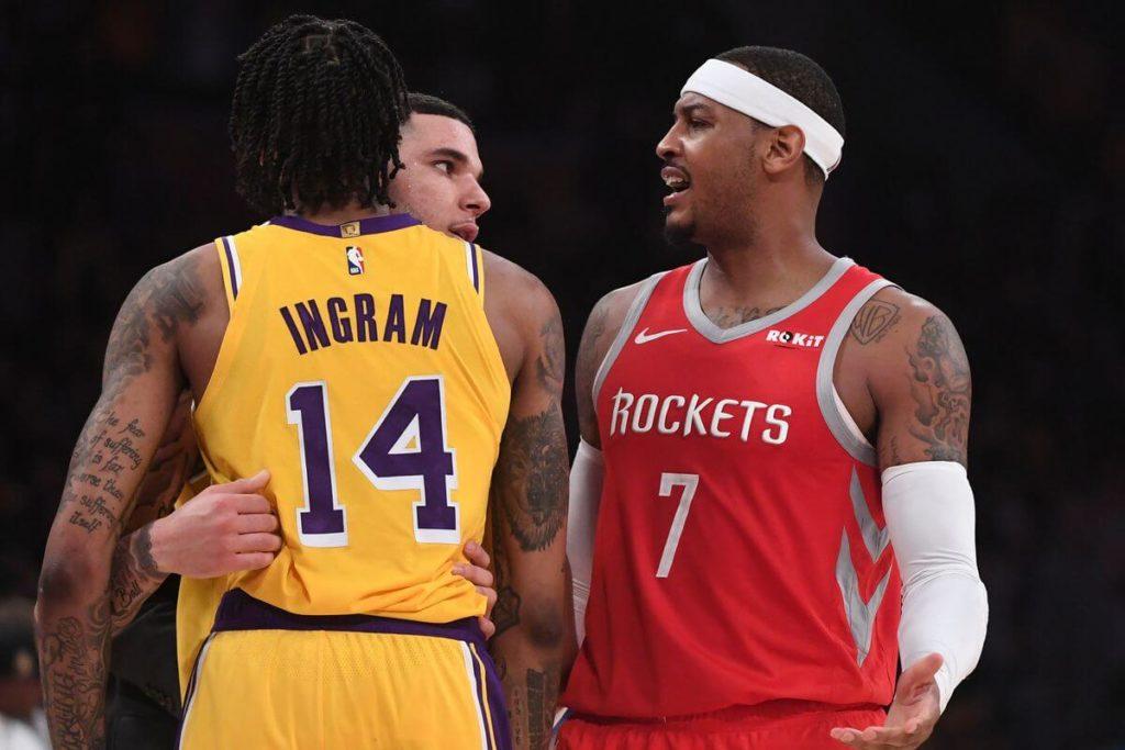 Los Angeles Lakers zawieszają negocjacje z Carmelo Anthonym