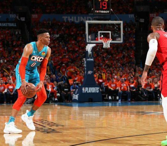 OKC Westbrook Russell Thunder