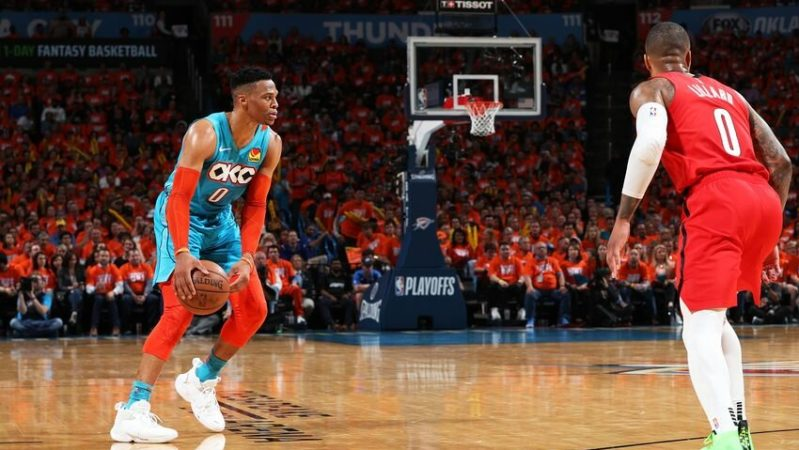 OKC Westbrook Russell Thunder