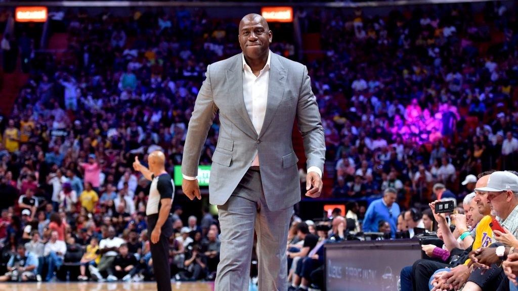 Magic Johnson rezygnuje z pracy dla Lakers!