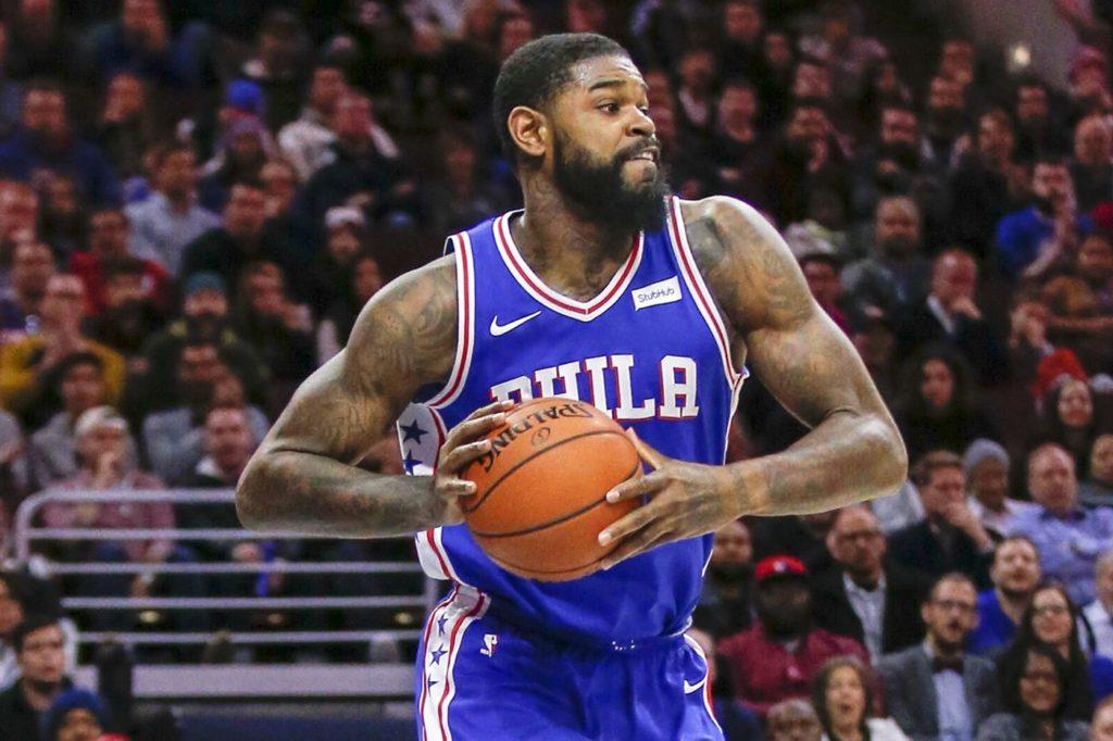 Amir Johnson Philadelphia 76ers Philly Sixers